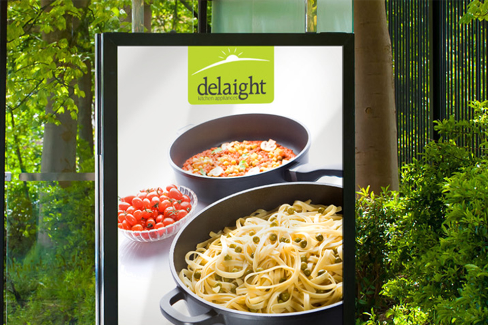 Graphic design for DELAIGHT Kitchen appliances