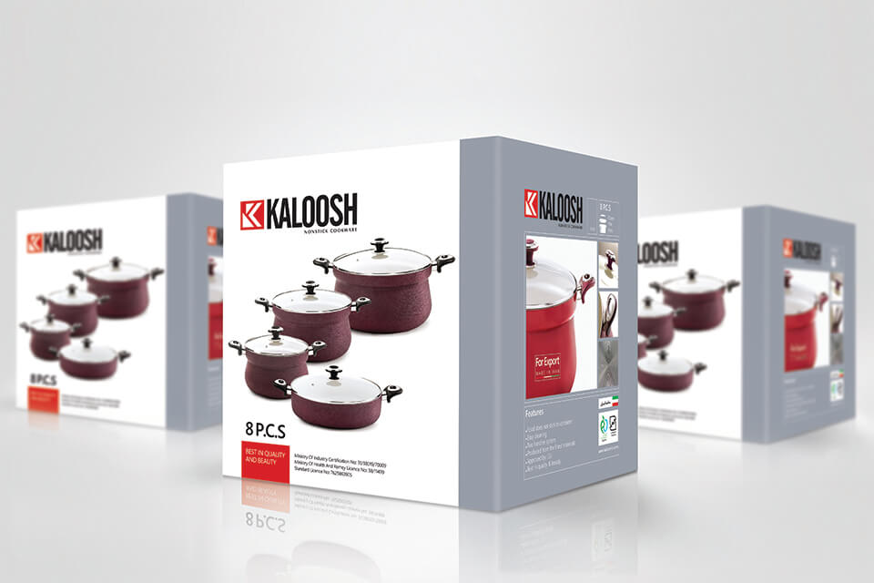 KALOOSH PRODUCT PACKAGING
