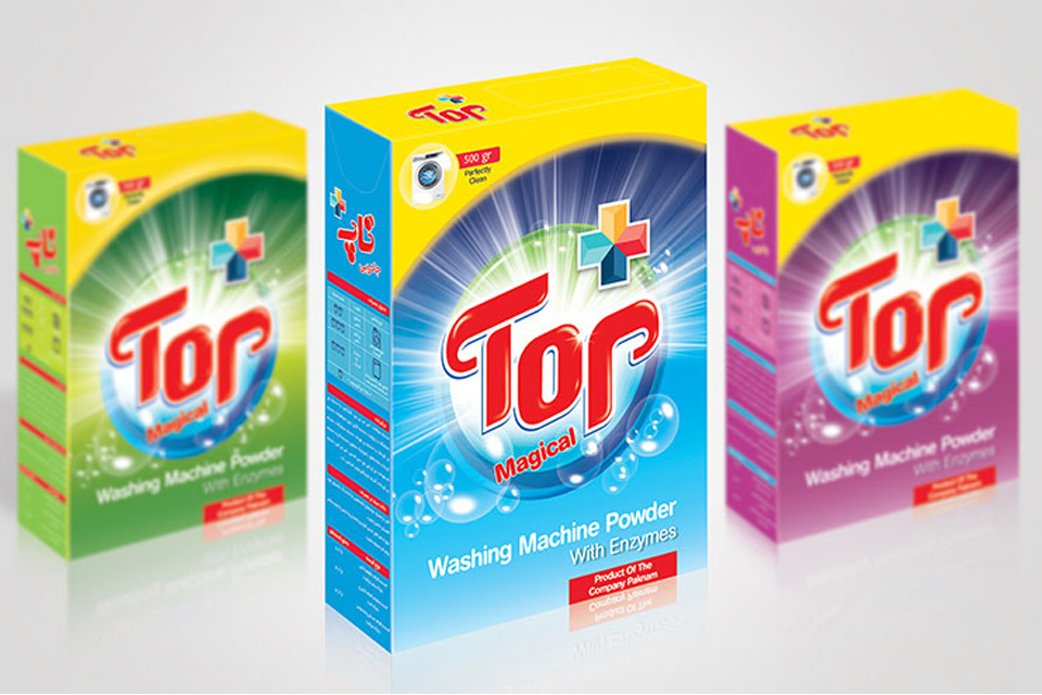 TOP product packaging