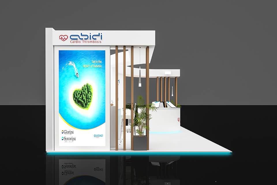 غرفه سازی داروسازی عبیدی -دانشگاه بهشتی 97